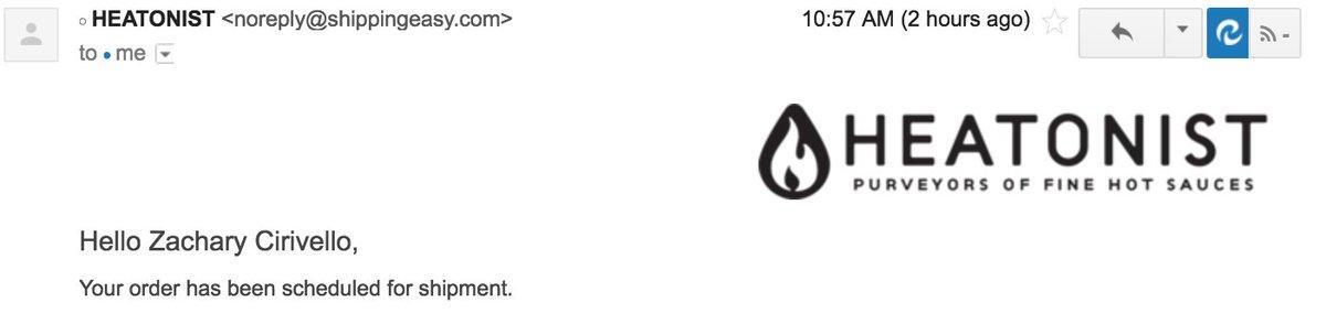 YES. #hotones #hotsauce @seanseaevans @Heatonist https://t.co/jxjRUVuB...