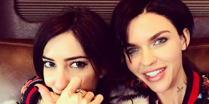 Ruby Rose gushes over girlfriend Jess Origliasso: 'She's my moral comp...