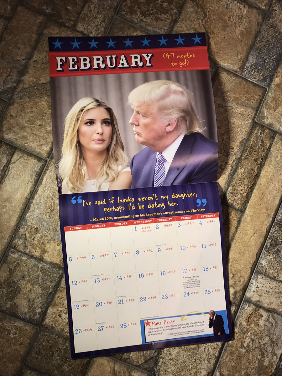 Antonio On Twitter So I Got A Calendar That Counts Down How Many Days Are Left Until Trump Leaves Office