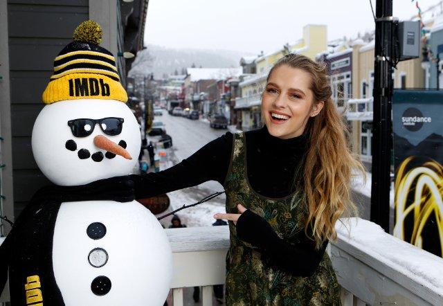 \'Berlin Syndrome\' star @teresapalmer at the #IMDbStudio #Sundance