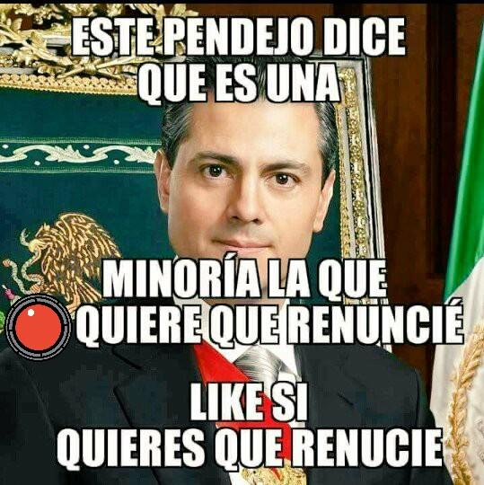#SomosMexico;Y México quiere la renuncia de @epn por corrupto y traido...