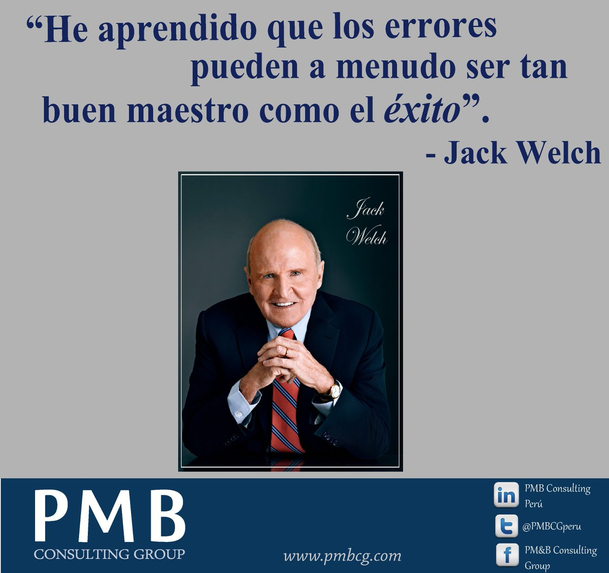 Pmb Consulting Perú On Twitter Quote Frase Del Día Jack