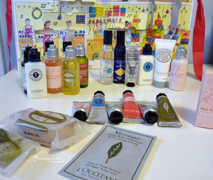#FrenchFriday : L'Occitane Advent Calendar Review