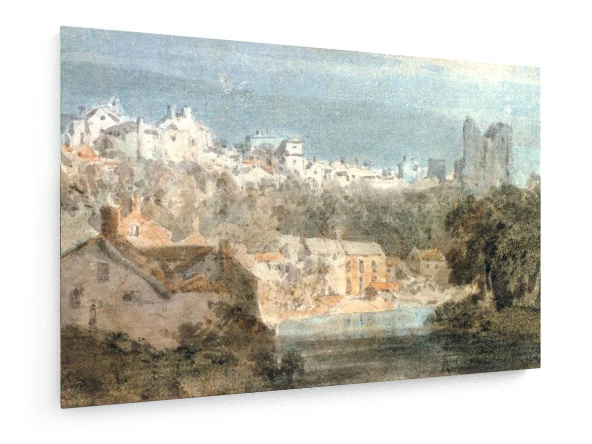 J. Turner, Knaresborough Castle. #William #Turner #weewado #Will #turner #art #ruins #city #town ...<br>http://pic.twitter.com/LxV1xLaWZF