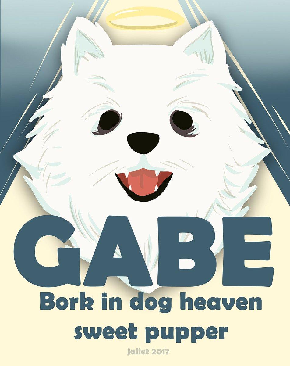 Today Gabe passed away :( #drawing #draw #dailydraw #gabethedog