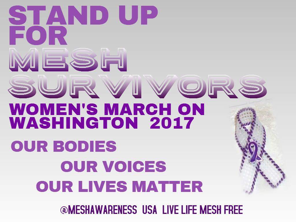 Let&#39;s March 2 Bring #Mesh Awareness @MeshAwareness @JanUrban12 @BernieSanders<br>http://pic.twitter.com/lblgKthFVw