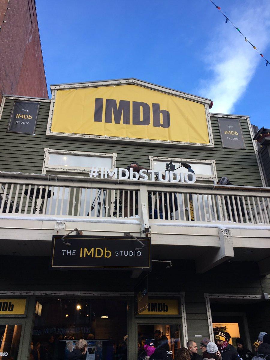 The #IMDbStudio at Sundance this afternoon @sundanceorg @sundancefest #sundance #parkcity