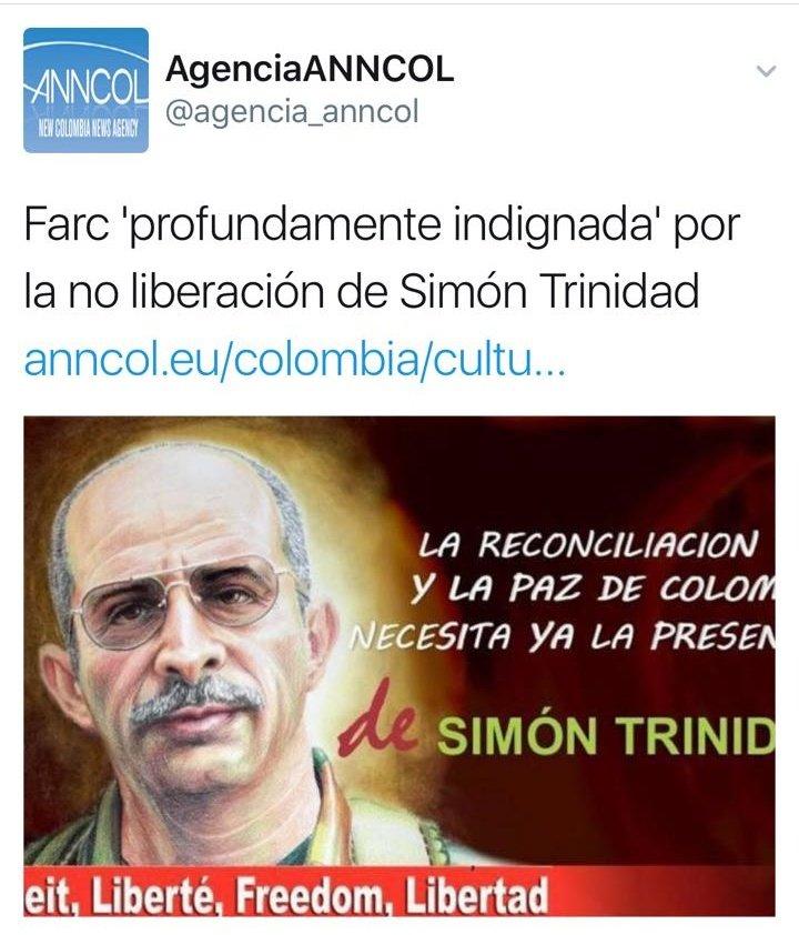 Está donde debe estar. Colombia indignada por los que faltan, Timochen...