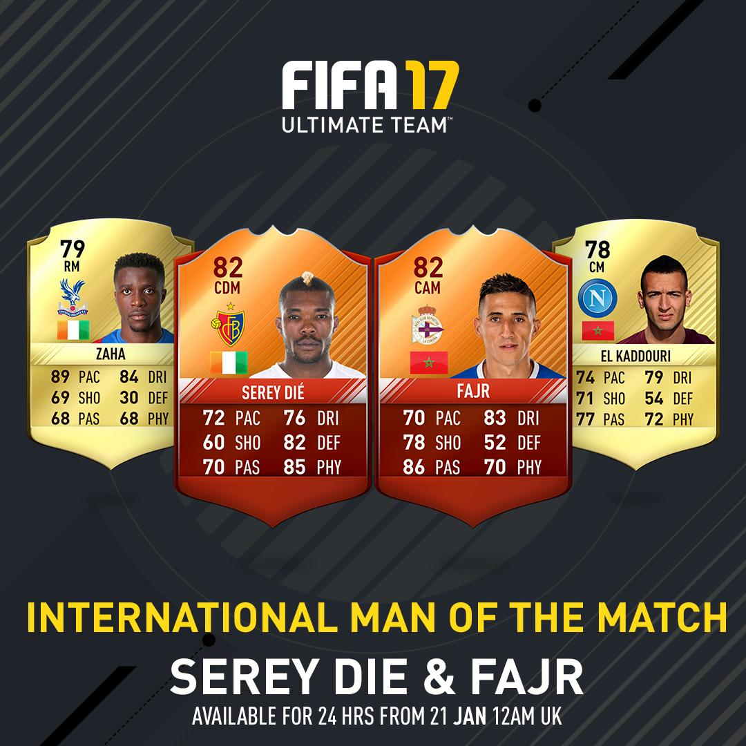 man of the match cards
