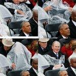 トランプ「アメリカ第一主義!!USAUSAUSA」オバマ「はぁ・・・」ブッシュ「カッパを頭から被って…