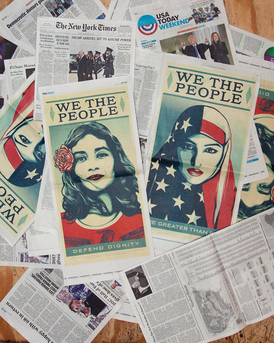 Today's #WeThePeople ads in @nytimes, @washingtonpost, and @USATODAY! https://t.co/mfQw88S47C