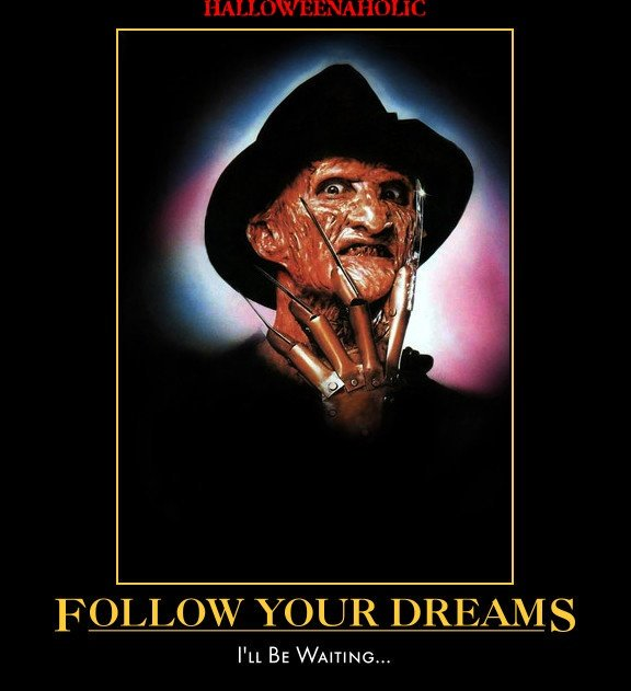 #followyourdreams #FreddyKrueger will be waiting #FreddyKruegerFriday #horrorhumor #horrormotivation #FridayFeeling #horrormovie #horror<br>http://pic.twitter.com/r2c0JnXrFt