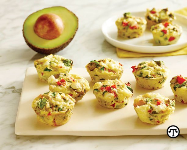 Eggs-traordinary California Avocado Breakfast Muffins