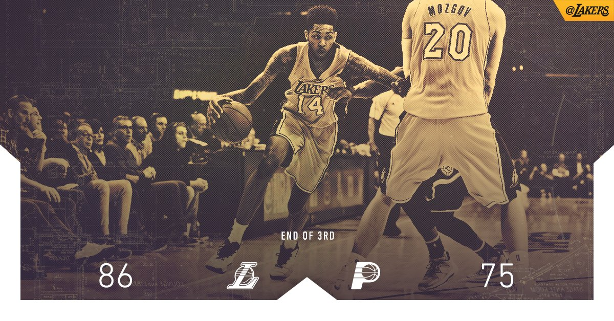 Brandon Ingram is making all kinds of noise with 15 pts, 6 reb & 3...
