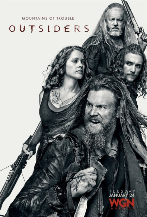 New posters for #Outsiders are here: