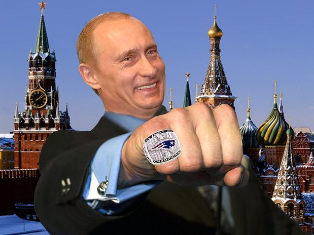 Let S Not Forget The Time Vladimir Putin Stole A Patriots Super Bowl Ring