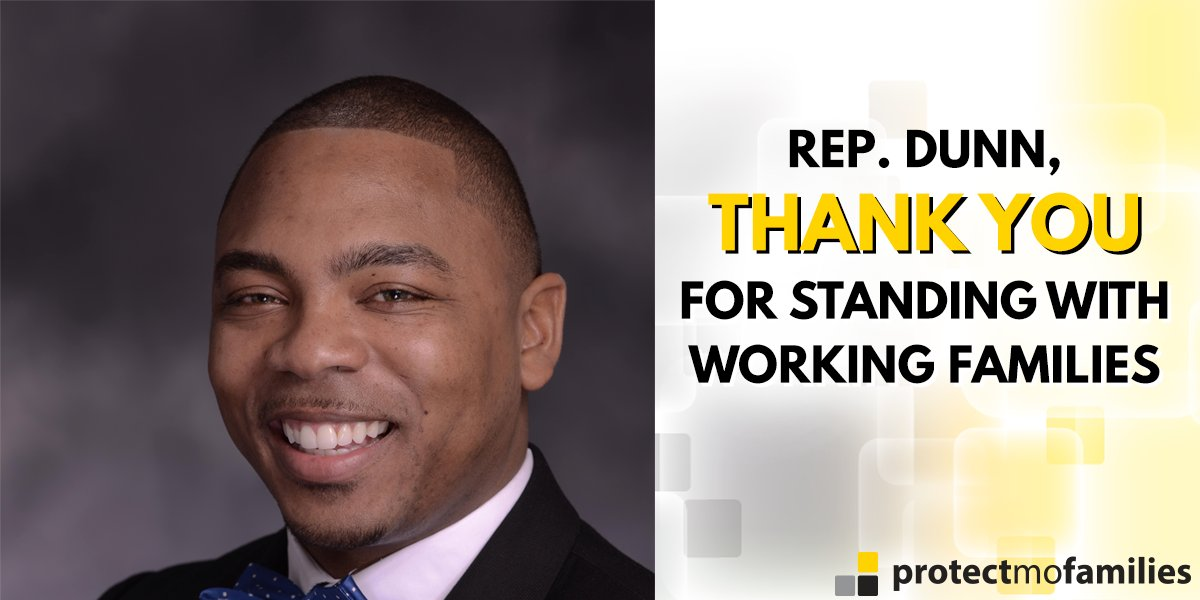 Thank you @MORepDunn for standing with working families in the #moleg!...
