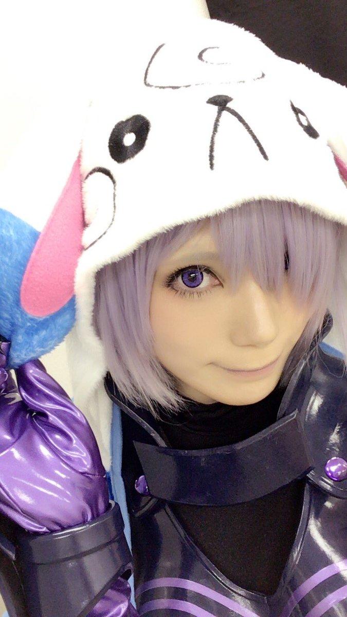 今日は名古屋でFGO冬祭りですよ、先輩...!