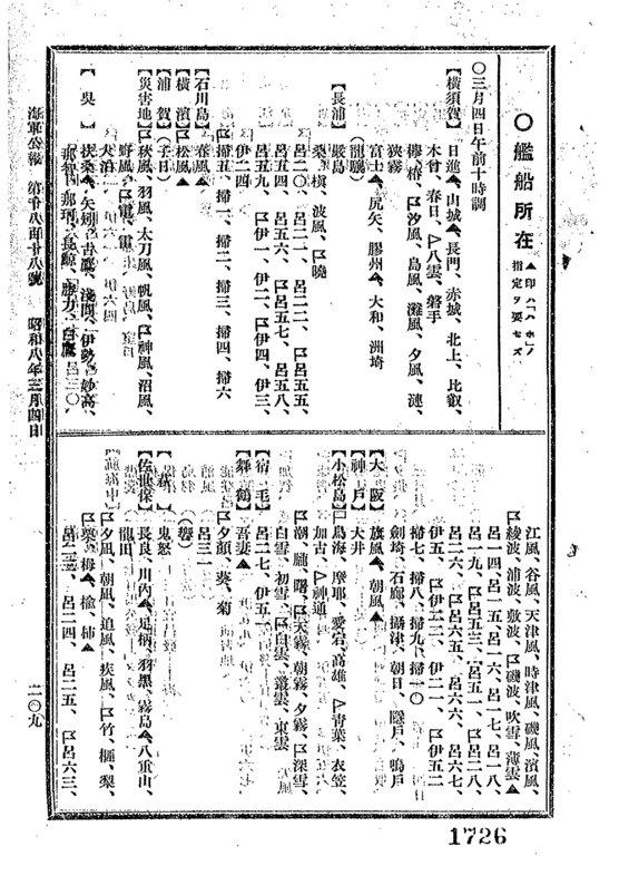 昭和三陸地震の翌日、大湊在泊の全艦と横須賀から神風・沼風・野風・雷・電が災害地に派遣されてるのか(Ref.C12070336200) https://t.co/ykJ5FosqDs