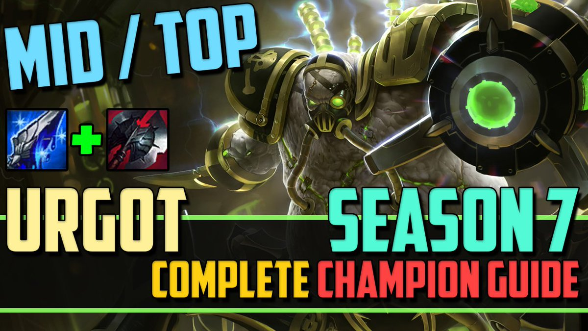 Noxro On Twitter Come Check Out My Top Mid Lane Urgot