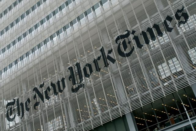 ICYMI: @nytimes says it will invest $5 million to cover Trump https://t.co/uQrDowTcMc https://t.co/sXaCFj7xNS