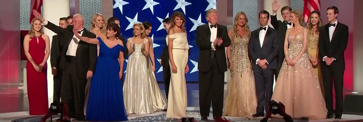The First Family at the #InauguralBall! #MAGA #MakeAmericaGreatAgain #...
