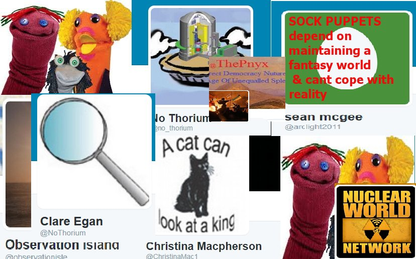 Flattering amount of trouble Noel Wauchope&#39;s sock puppets go to 24/7 to try to diss #thorium technology #Auspol #climate #uranium #nuclear<br>http://pic.twitter.com/97WPl81Awx