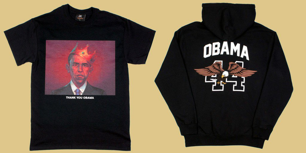 This Capsule Collection Is a Huge 'Thank You' to Obama https://t.co/m1YogJbQ7m https://t.co/l0cI0Zrba9