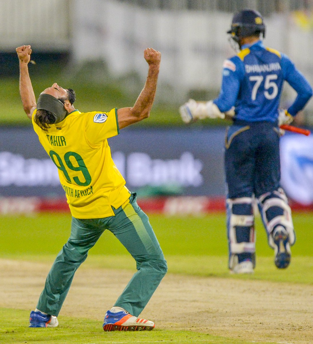 Experience and youth combined to give South Africa the edge in the 1st...