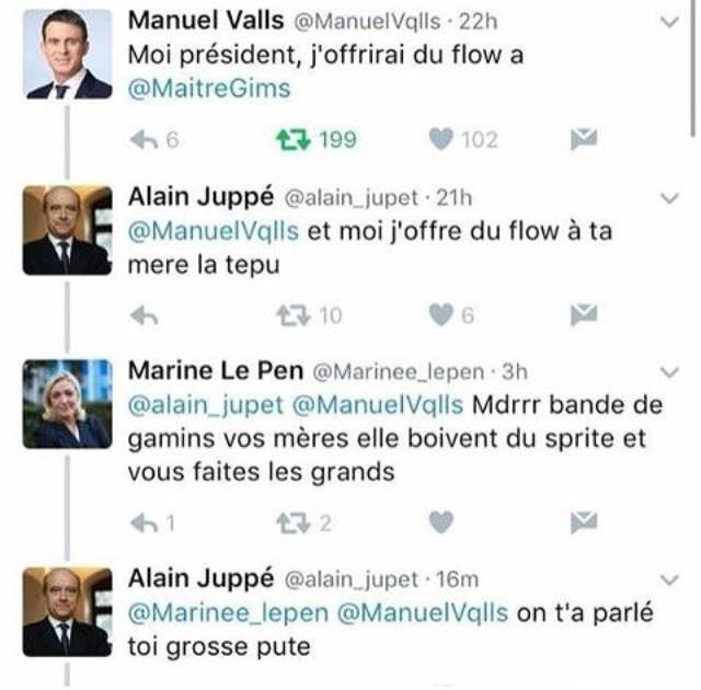 #ManuelValls #Marine2017 COQUINNN❤❤❤