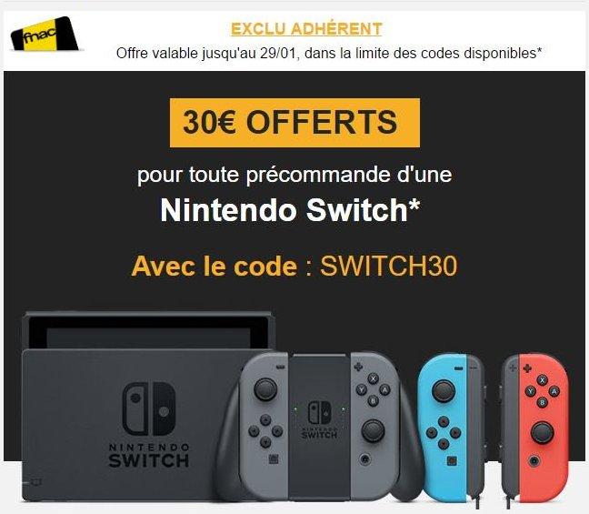 nintendo switch jeux gratuit eshop