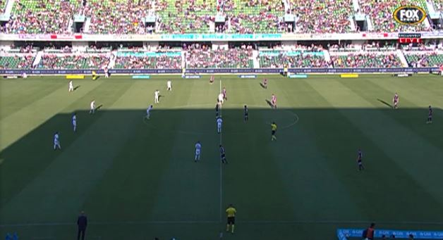 46' Play has resumed in Perth for the second half #PERvMVC 0-0 #ALeagu...