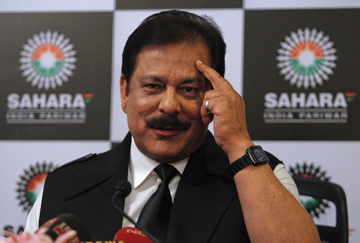 Sahara boss' parole costs SEBI over Rs 3 lakh a month https://t.co/QNg...