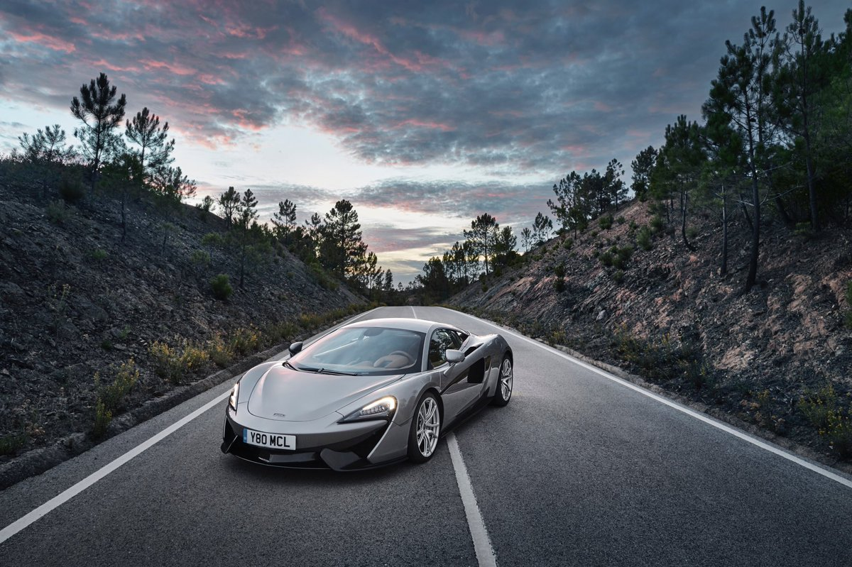 The #McLaren 570S pictured here in three...