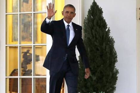 Ladies and gentlemen, #ISIS has left the building. #obama #ObamaFarewe...