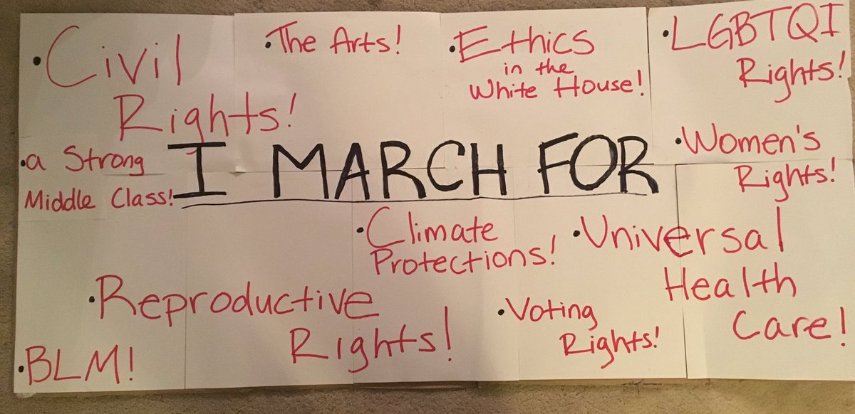 Couldn&#39;t decide what to put on my poster. So I put it all. Stay safe tomorrow. #WomensMarch #resist #thisisnotnormal #womensmarchlosangeles<br>http://pic.twitter.com/ogjgb3BNwr