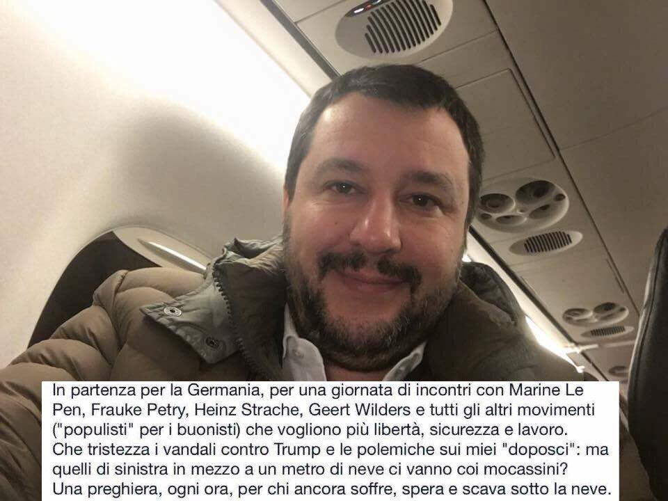 Verso #Koblenz. Tristi i vandali anti-Trump e polemiche sui 'doposci':...