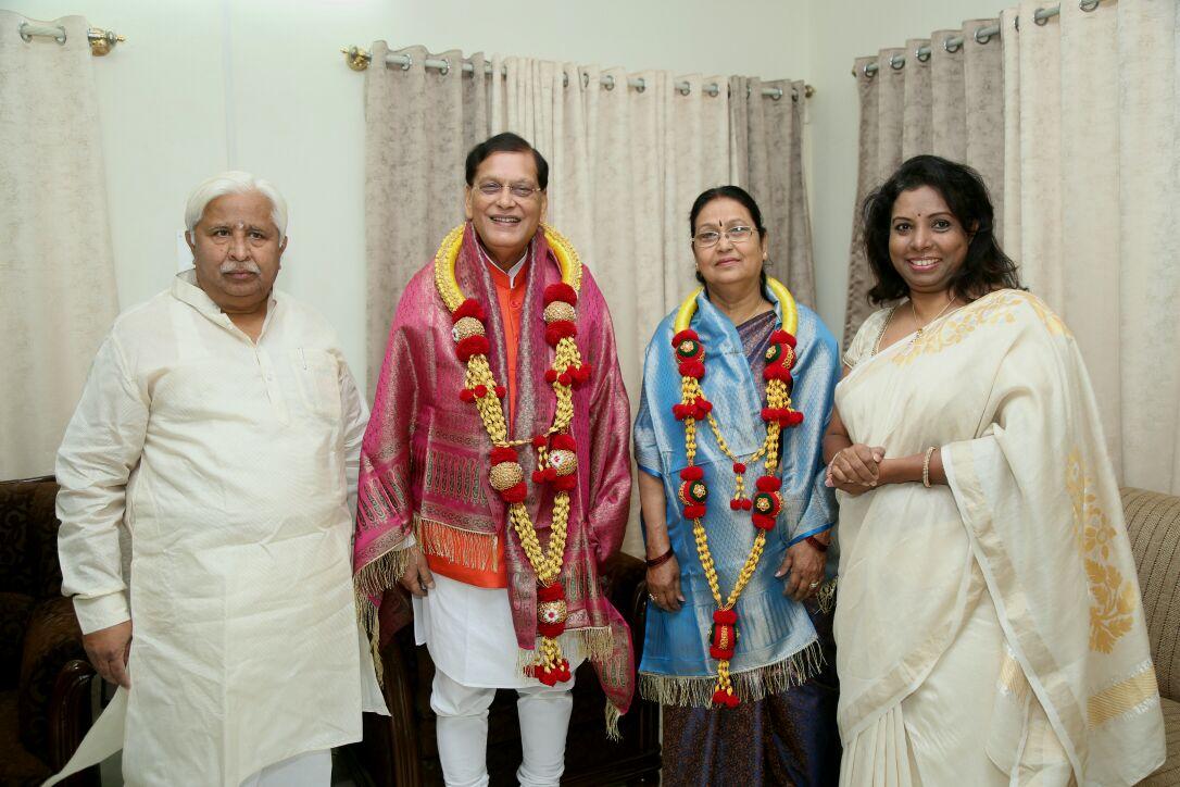 """Bindeshwar Pathak On Twitter: """"Honoured To Meet & Greet"""