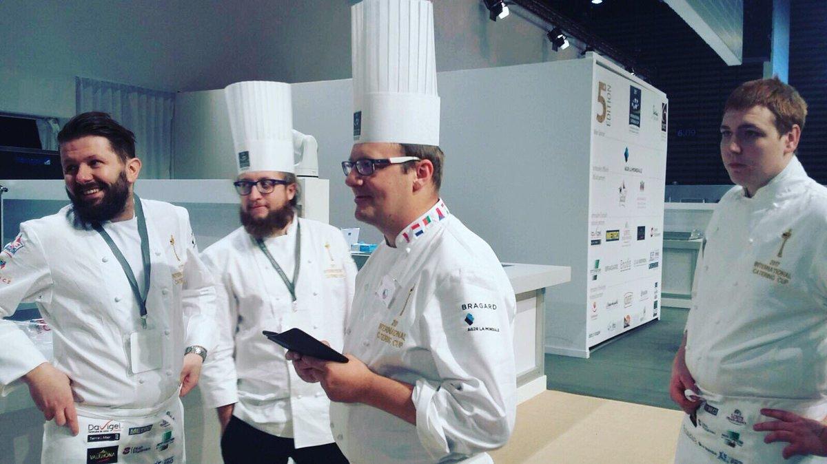 L&#39;épreuve finale de l&#39;international catering cup va commencer ! #sirha #icc #contest #food #chef<br>http://pic.twitter.com/21gwn5oGH7