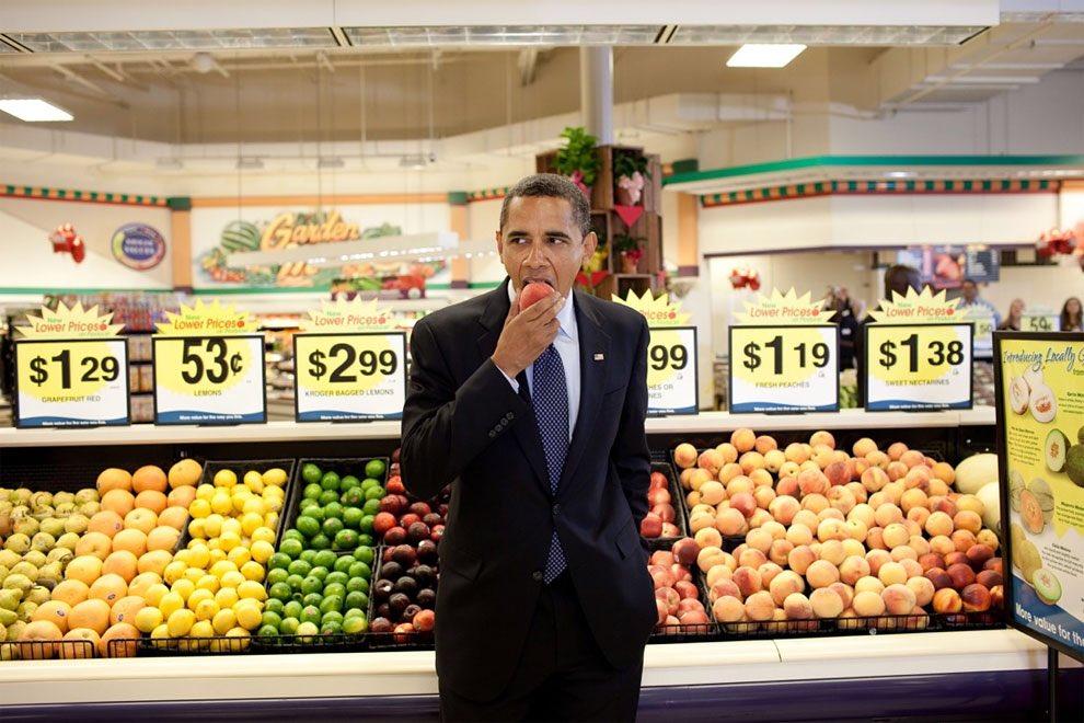 オバマ大統領の任期8年の間、ホワイトハウスの公式フォトグラファーだったPete Souzaさんが撮影…