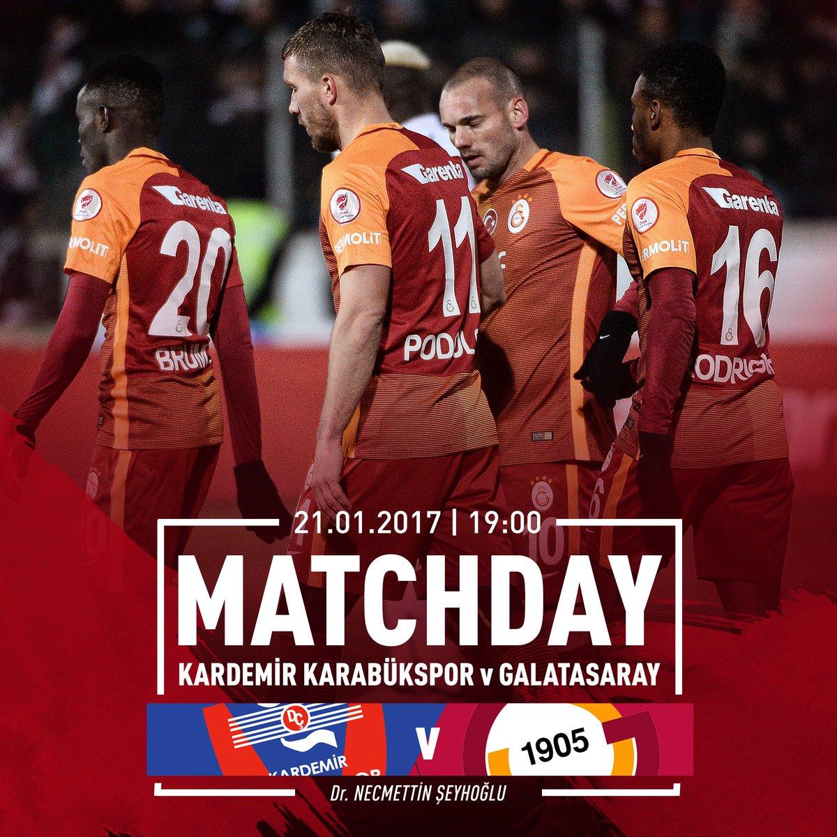 Maça Doğru | Karabükspor - Galatasaray https://t.co/8sD1e5EdMh https:/...