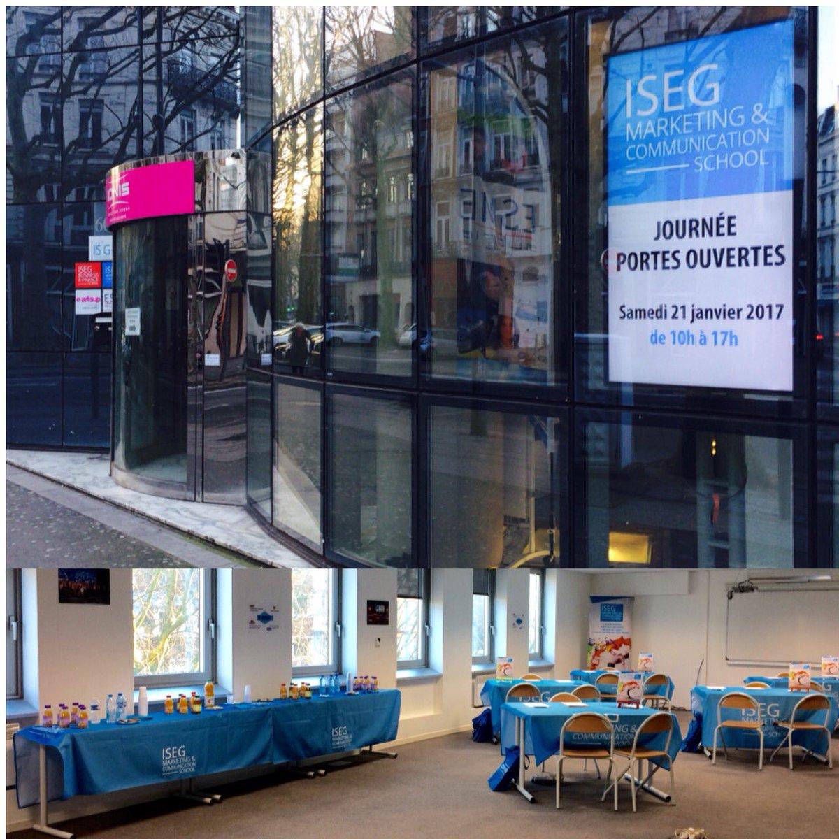 Aujourd&#39;hui, l&#39;ISEG Lille vous ouvre ses portes au 60 boulevard de la Liberté, bienvenue ! #jpo #communication #marketing #school #digital<br>http://pic.twitter.com/qE1ldc9z0O