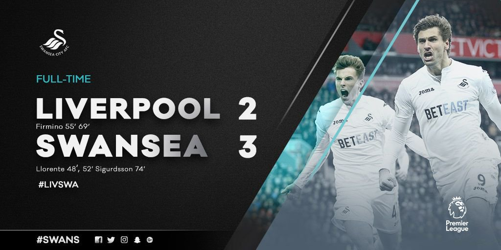 It's all over at Anfield! What a result and what a performance by the...