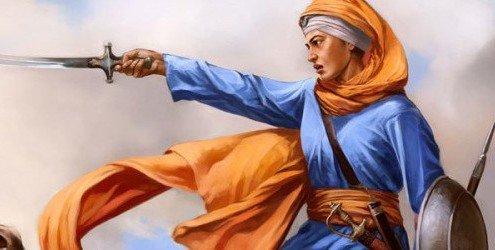 A devout Sikh warrior and leader -- Mai Bhago. #WomenWhoHaveInspiredMe...