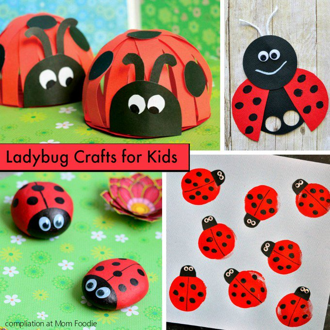 Ladybug Crafts Kids will Love: Projects Collection
