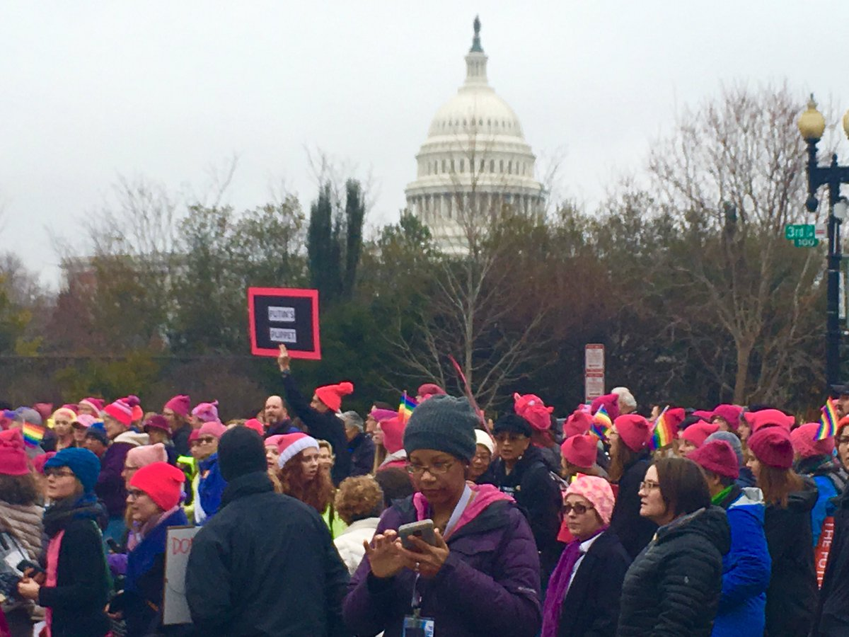 Our Nation's Capitol. #WomensMarch  #Resist https://t.co/WPIFjaGdHk