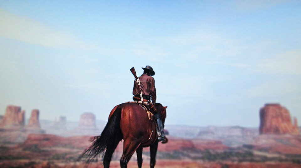 &quot;Through the Canyon&quot;   Playing #RDR and waiting so bad for #RDR2   #RedDeadRedemption #RedDeadRedemption2 #PS3 #Western #Canyon #Cowboy <br>http://pic.twitter.com/pVbv25WN05