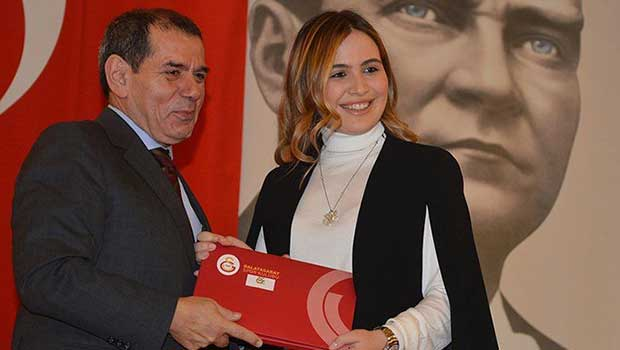 Beşiktaşlı Sinan Engin'in kızı Galatasaray'da... https://t.co/kSVoLEn1...