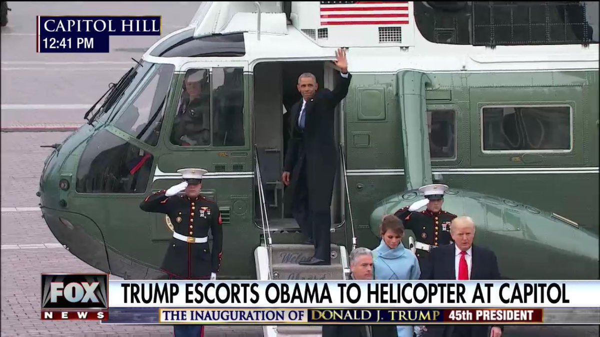 Goodbye! But now it&#39;s our turn #MAGA #GoodbyeObamas #ourturn #republicanfordayz<br>http://pic.twitter.com/rU0Nd12nRB