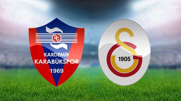 Galatasaray, Karabükspor maçının ilk 11'leri belli oldu https://t.co/F...